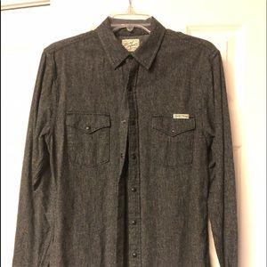 Lucky Brand Men's button down western style shirt